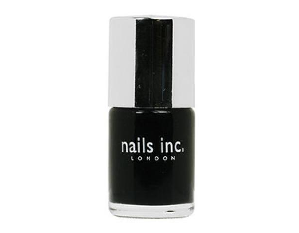 Nails Inc. Black Taxi Nail Polish (10ml)