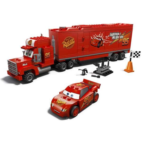 LEGO Cars: Mack's Team Truck (8486) Toys | TheHut.com