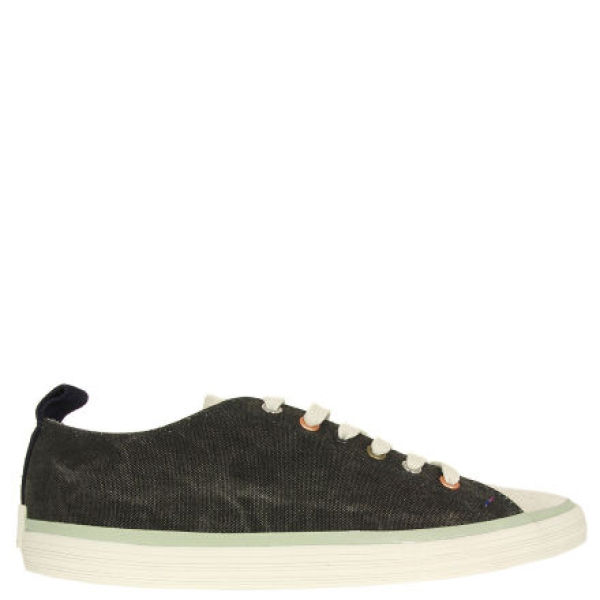 paul smith shoes s lokai canvas trainers black