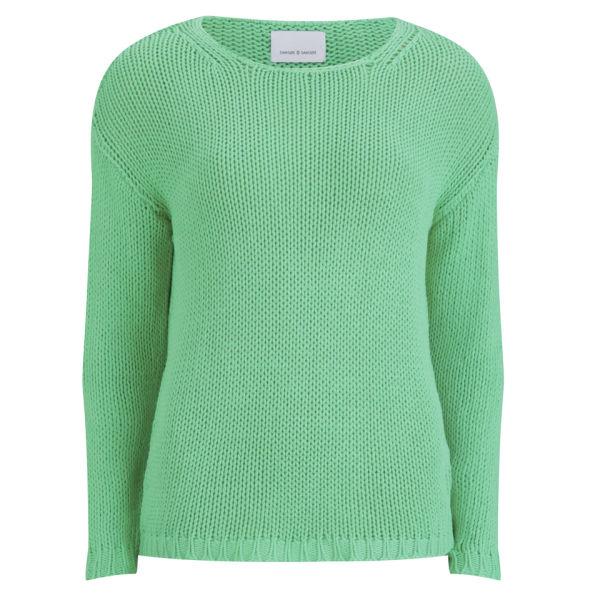 Samsoe & Samsoe Women's Chub Knit - Irish Green