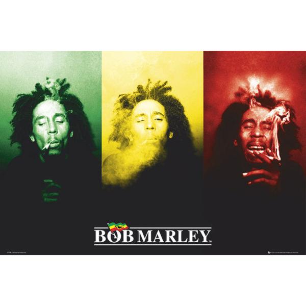 Bob Marley Flag - Maxi Poster - 61 x 91.5cm