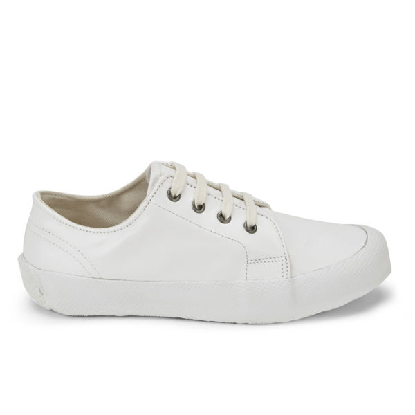 c6ec5d1a70e YMC Women's Low Side Leather Trainers - White  Image 1