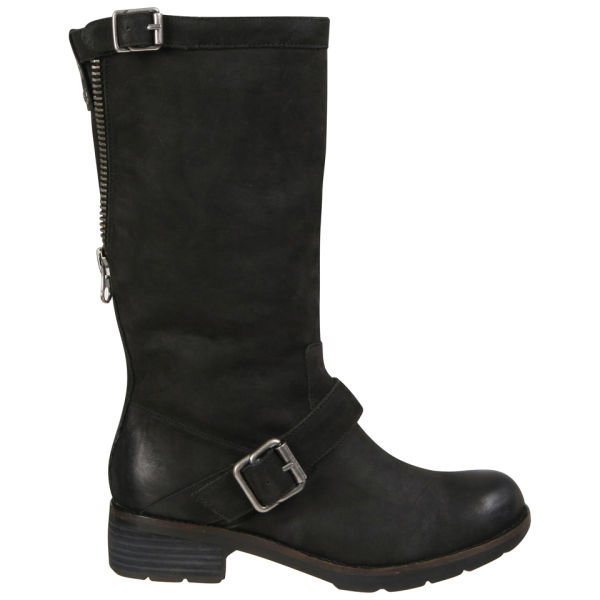 CK Jeans Women's Halie Leather Boots - Black