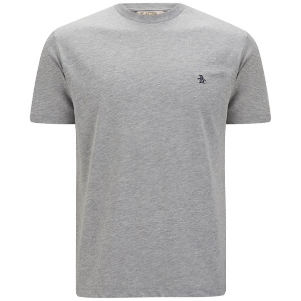 Original Penguin Men's Embroidered T-Shirt - Rain Heather