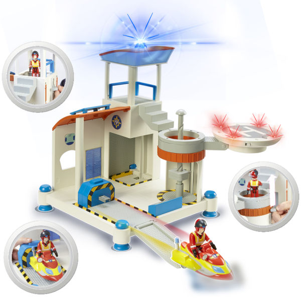 Fireman Sam Ocean Rescue Playset