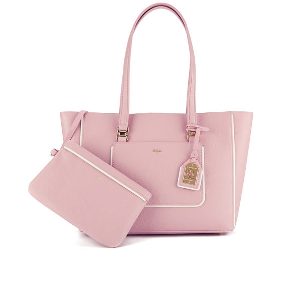 3609936fc4 Lauren Ralph Lauren Women s Dorset Shopper Bag - Tea Rose  Image 1