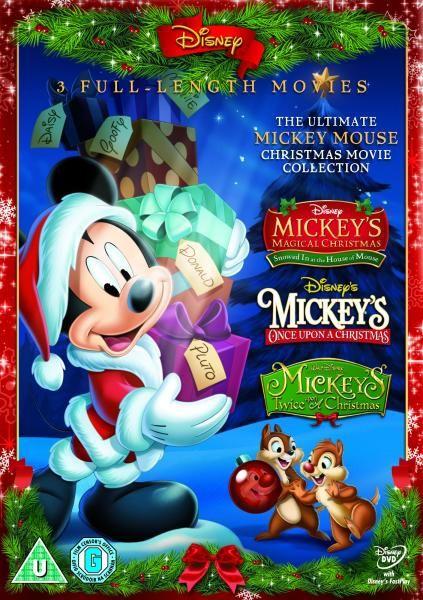 Mickey Triple Mickey's Magical Christmas, Mickey's Once Upon a christmas