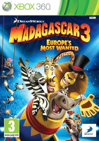 Madagascar 3 Europe S Most Wanted Xbox 360 Zavvi