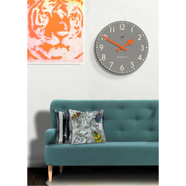 Tock Wall Clock Posh Clock Grey Free Uk Delivery Over 163 50