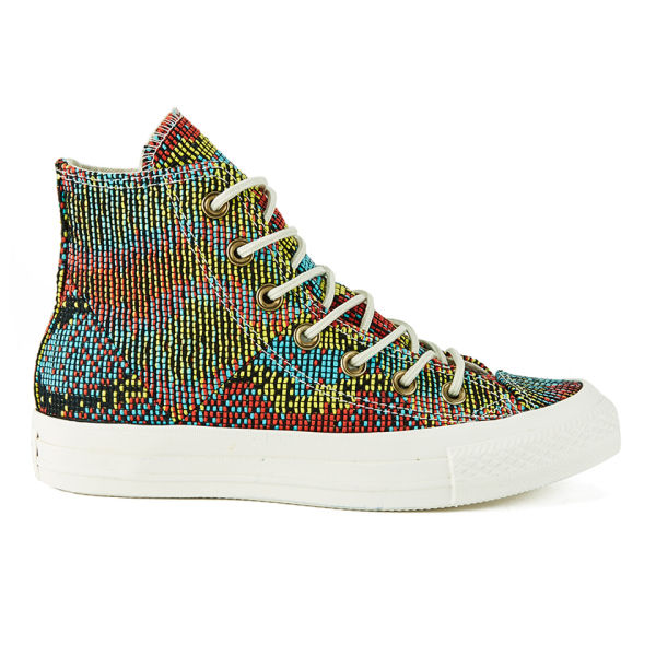 Newest Converse Chuck Taylor All Star Mul Panel Ox W Multicolor Womens Trainers Outlet UK1215