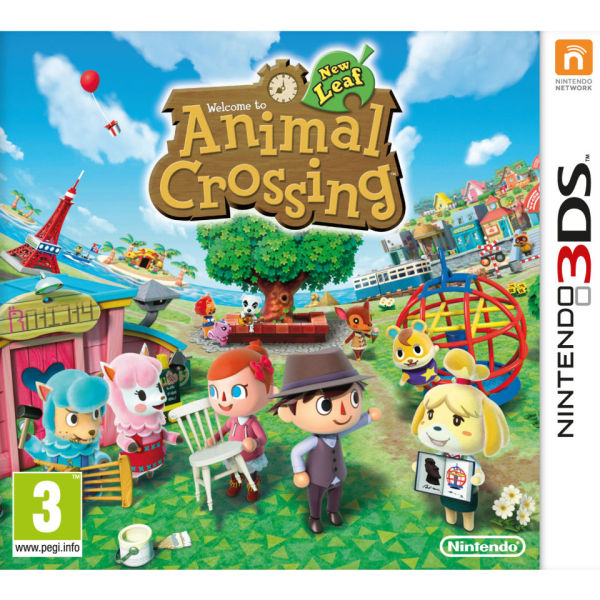 Animal Crossing New Leaf Nintendo 3ds Zavvi