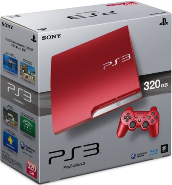 playstation 3 slim 320 gb console limited edition. Black Bedroom Furniture Sets. Home Design Ideas