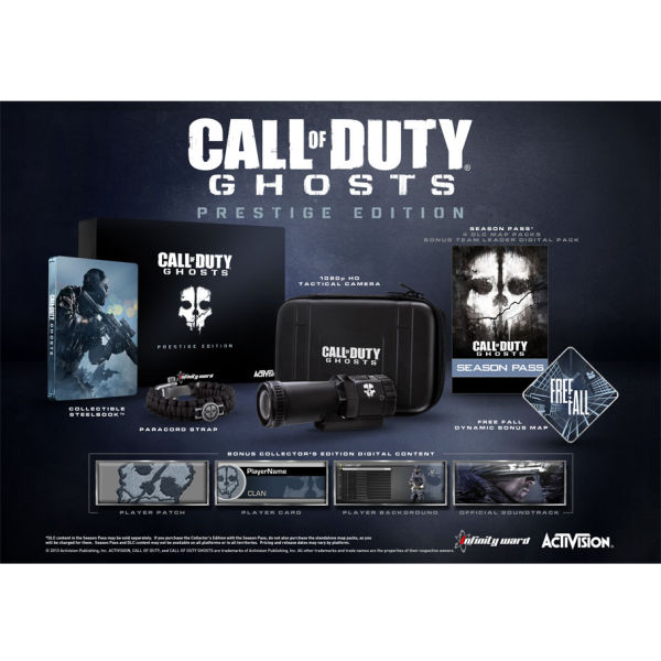 Here Be Porpoises Call Of Duty Ghosts: Call Of Duty: Ghosts Prestige Edition Xbox 360
