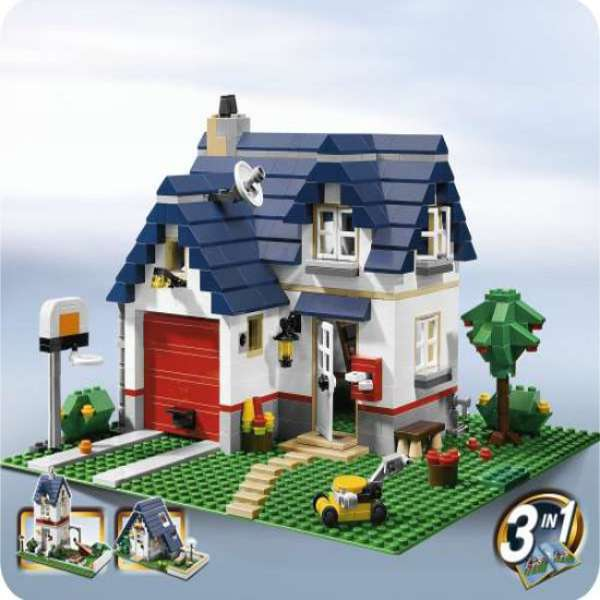 Lego Creator Apple Tree House 5891 Toys