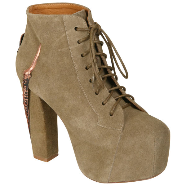 Jeffrey Campbell Women's Lita Claw Shoes - Taupe