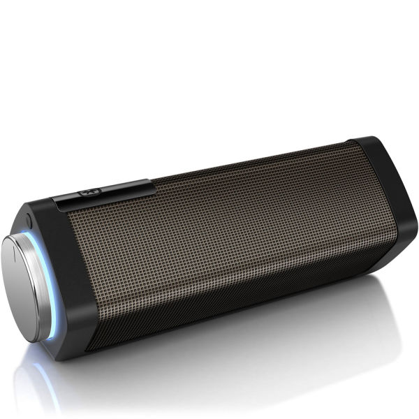 Philips Bluetooth Speaker Portable: Philips SB7100/05 Shoqbox Bluetooth Wireless Portable Speaker With Gesture Control - Black