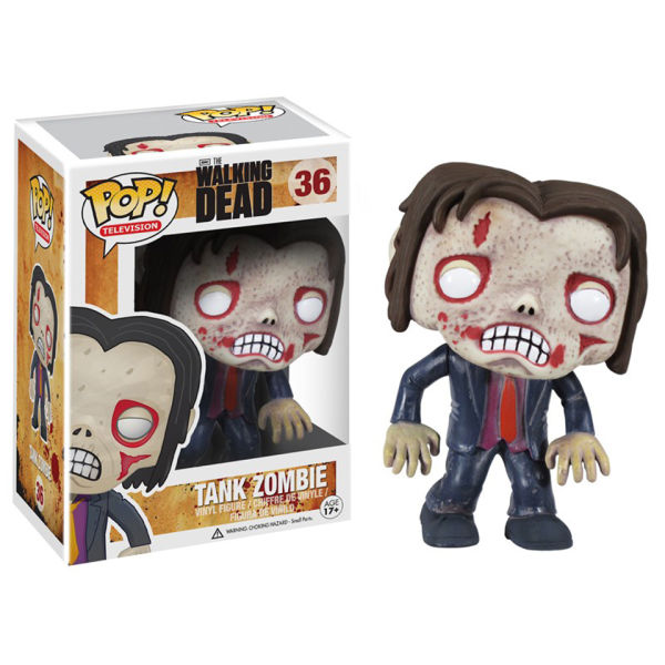 The Walking Dead Tank Zombie Pop! Vinyl Figure