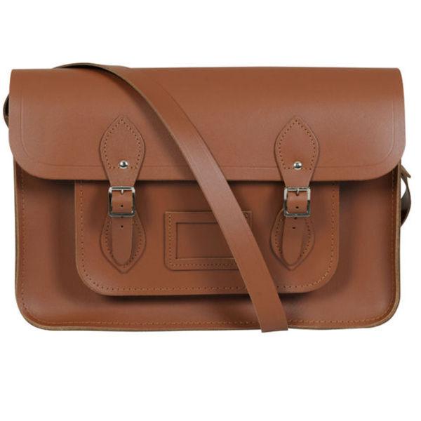 The Cambridge Satchel Company 14 Inch Classic Leather Satchel - Vintage Tan