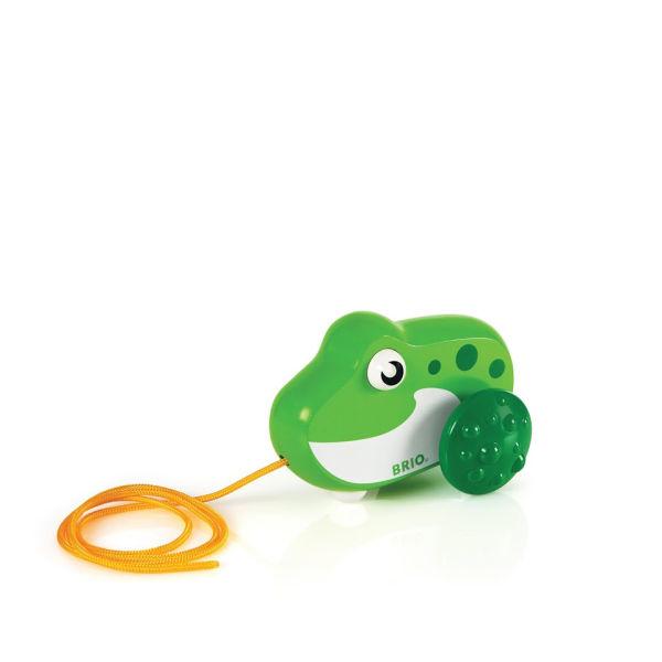 Brio Pull Along Frog