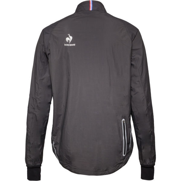 le coq sportif performance arcalis rain jacket black. Black Bedroom Furniture Sets. Home Design Ideas