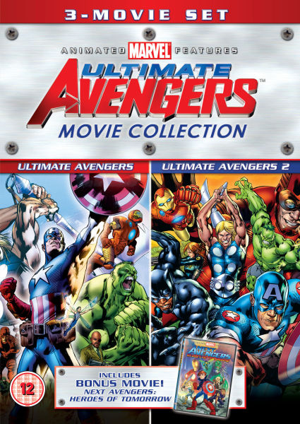 Ultimate Avengers 3 Movie Collection Iwoot