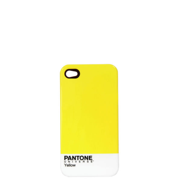 Pantone Men's iPhone 4 Case - Yellow