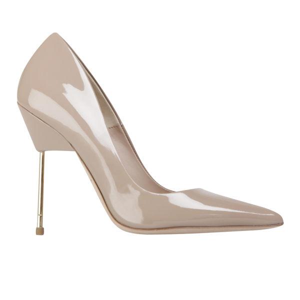 8e3af0cbe33 Kurt Geiger Women s Britton Stiletto Heeled Patent Leather Court Shoes -  Nude