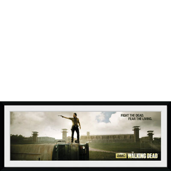 The Walking Dead Prison - 30x75 Collector Prints