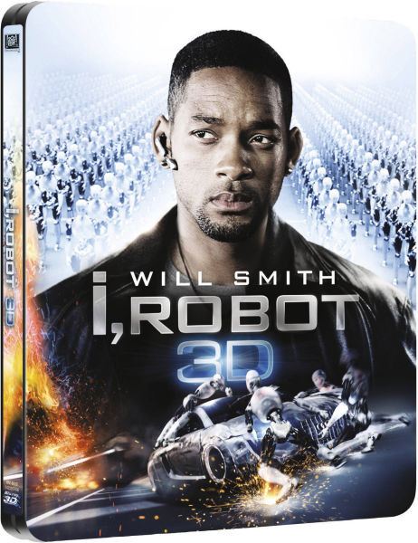 I, Robot 3D (Includes 2D Version) - Zavvi Exclusive Limited Edition Steelbook