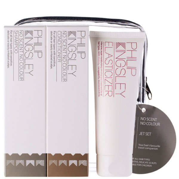 Philip Kingsley Jet Set No Scent No Colour (3 Products)