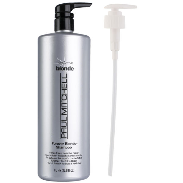 Paul Mitchell Forever Blonde Shampoo (1000ml) with Pump