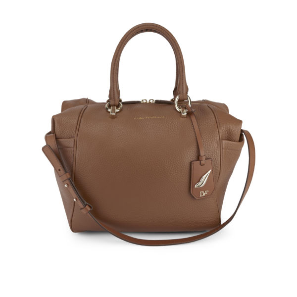 Diane von Furstenberg Women's Sutra Leather Wing Tote Bag - Tan