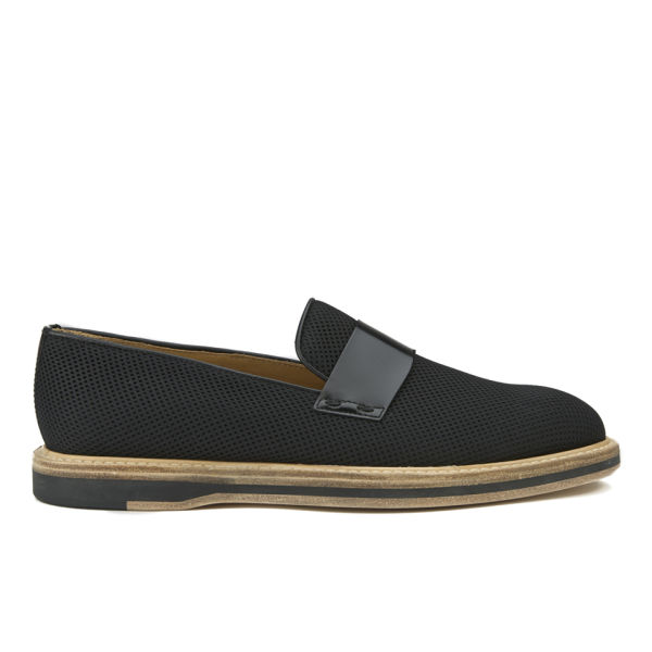 Paul Smith Shoes Women's Pierce Slip On Brogues - Nero Pois Mesh/Nero Amalfi