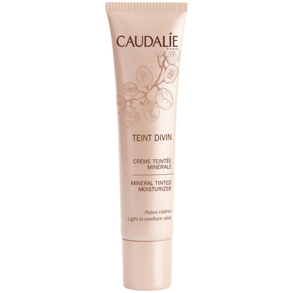 Caudalie Teint Divin Mineral Tinted Moisturizer - Light To Medium Skin (30ml)