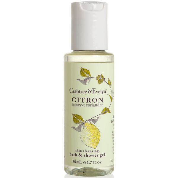 Crabtree & Evelyn Citron, Honey, Coriander Bath et Shower Gel (250ml)