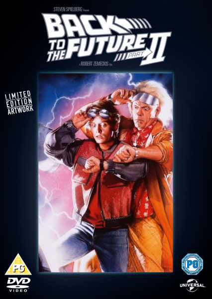 Back To The Future 2 Part 2 Original Poster Series Dvd