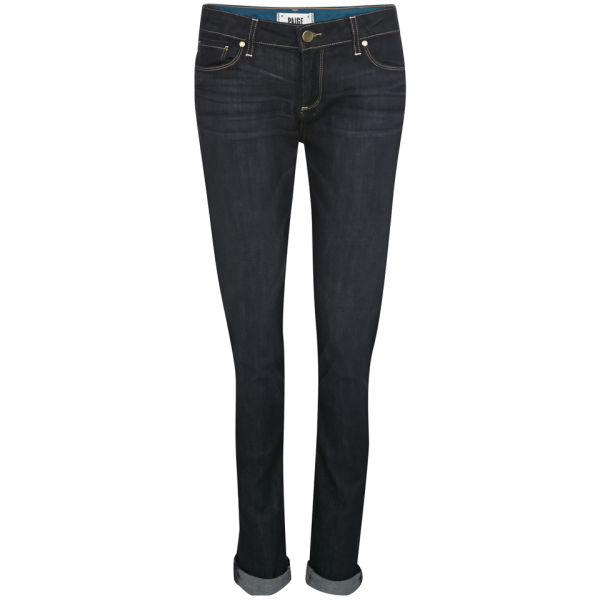 Paige Women's Low Rise Jimmy Jimmy Skinny Boyfriend Jeans - Rebel without a Cause