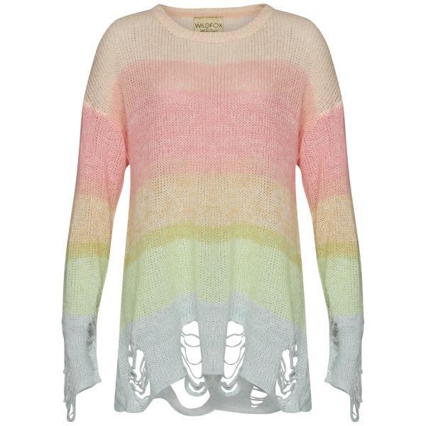 Wildfox Women's Popsicle Jumper - Happiness Multi