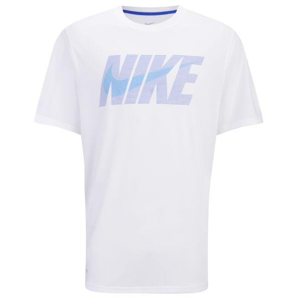 Nike Men 39 S Legend Swoosh Short Sleeve T Shirt White