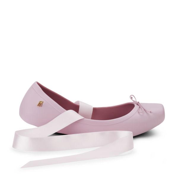 Melissa Ballet Pumps - Matte Pink