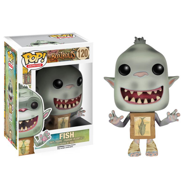 Boxtrolls Fish Pop! Vinyl Figure