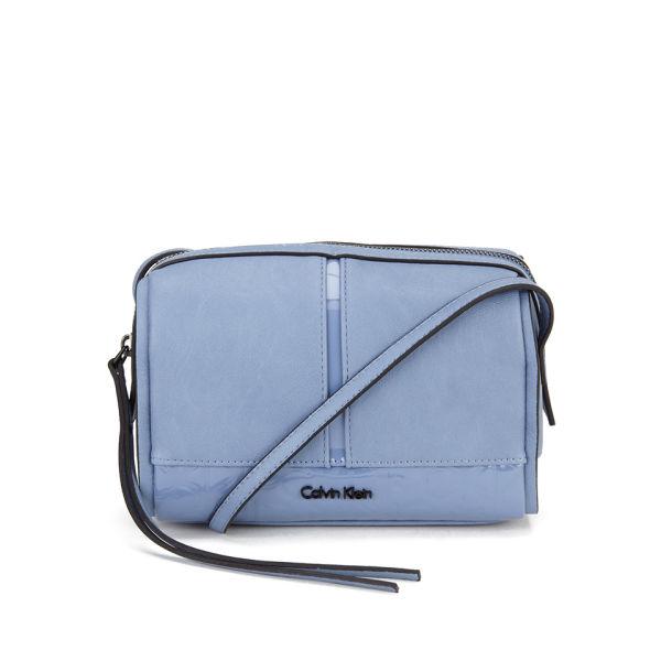 Calvin Klein Women s Maddie Small Crossbody Bag - Infinity Blue  Image 1 1a1ebc37815bd