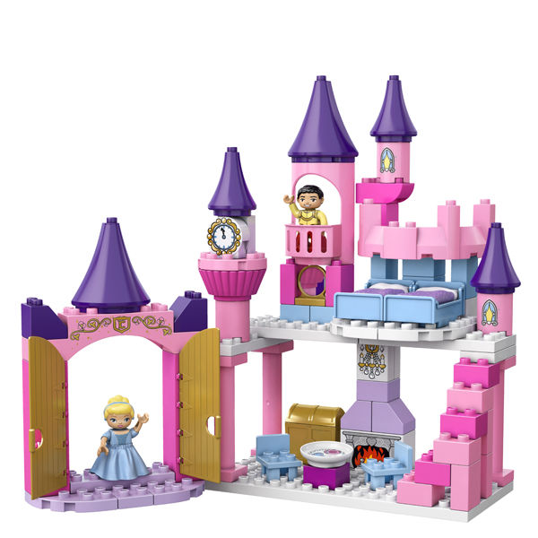 Lego Duplo Cinderella S Castle 6154 Toys Thehut Com