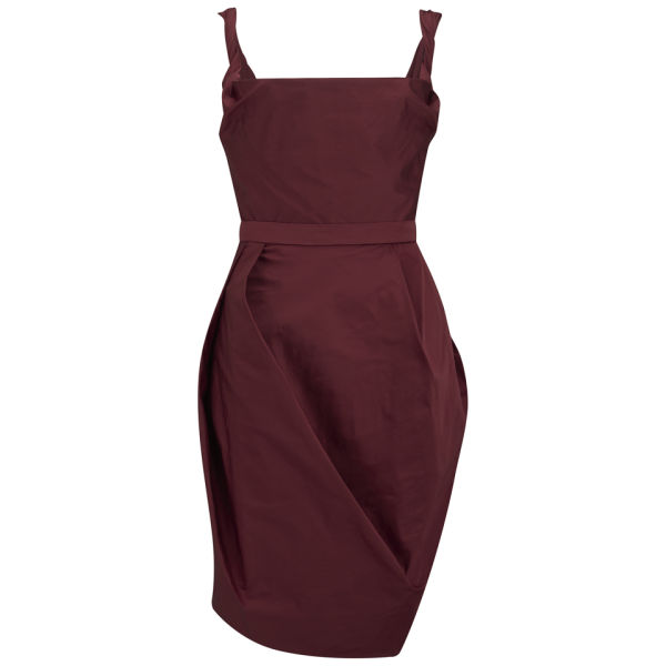 Vivienne Westwood Red Label Women's Technical Faille Cocktail Dress - Red