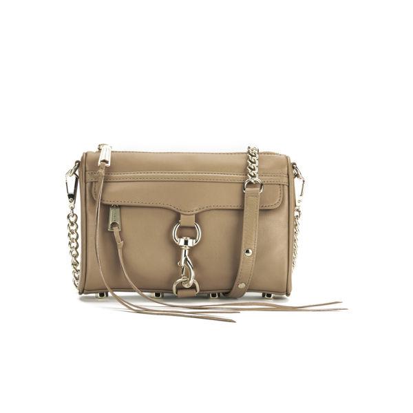 Rebecca Minkoff Women's Mini M.A.C. Leather Cross Body Bag - Fatique