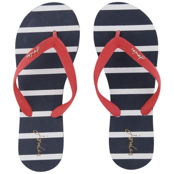 Joules Women's Jenny Flip Flops - Marine Navy