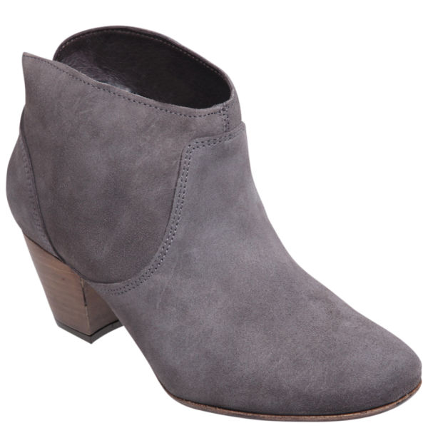 Hudson London Women's Mirar Suede Heeled Ankle Boots - Grey - FREE ...