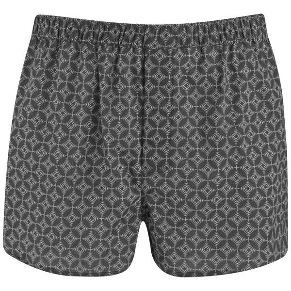 Derek Rose Men's Arlo Modern Fit Boxer Shorts - Charcoal
