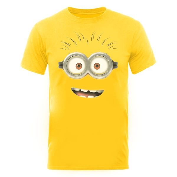 despicable me 2 men 39 s t shirt minion dave yellow iwoot. Black Bedroom Furniture Sets. Home Design Ideas