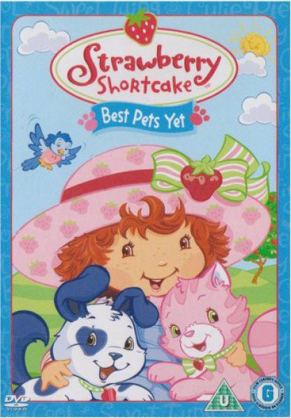 Strawberry Shortcake Best Pets Yet Dvd Zavvi